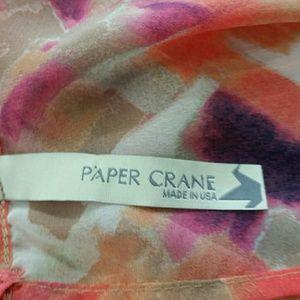 Paper Crane Tops - Anthropology Paper Crane sheer top